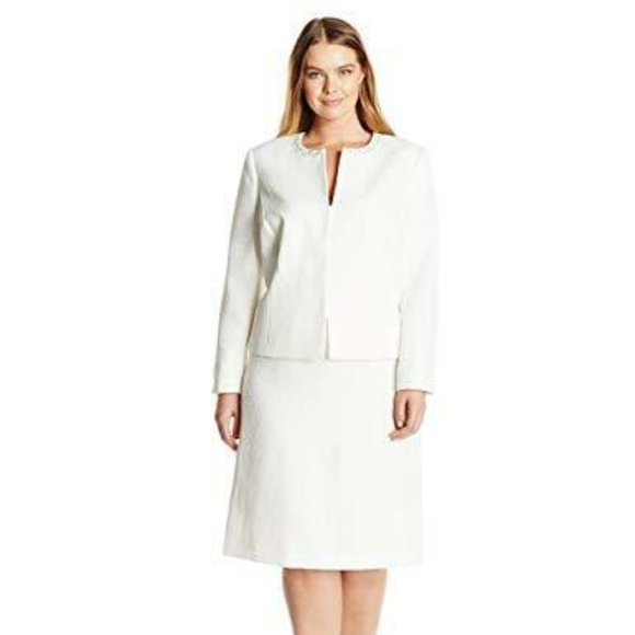 quality first later browse latest collections Tahari Women's Plus Size Jacquard Blazer Boutique